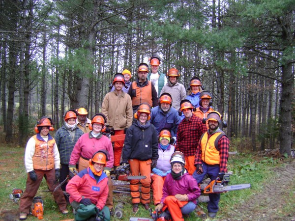 Chainsaw safety class