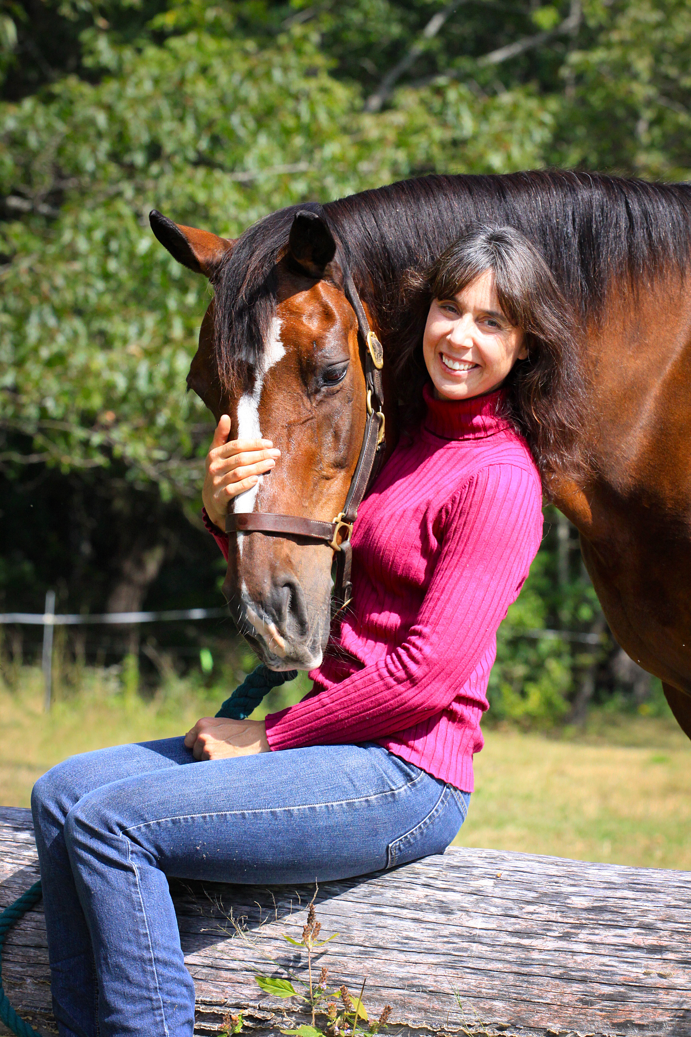 Winter horseback riding can be fun, but special care is needed