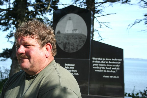 Brian Guptill, president of the Grand Manan Fishermen's Association, says the organization decided it was time to pay tribute to all community members who had been lost at sea after two fishermen died last February.