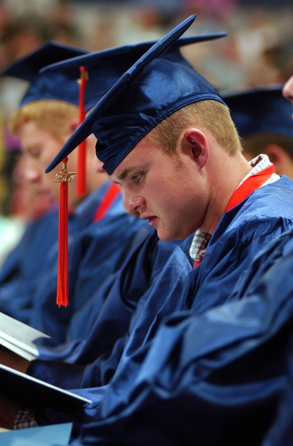 College graduates are increasingly going bankrupt, according to a recent survey.
