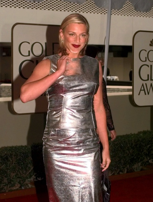 In this Jan. 24, 1999 file photo, actress Eleanor Mondale, daughter of former Vice President Walter Mondale, arrives at the 56th annual Golden Globes in Beverly Hills, Calif.