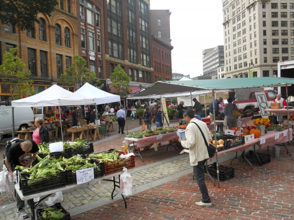 The Portland Farmers Market on Wednesday, Sept. 28, 2011