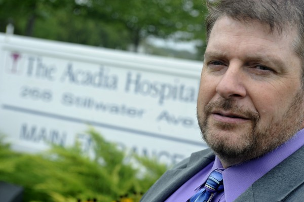 David Proffitt, Former CEO of Acadia Hospital. Photographed Friday morning, Sept. 10, 2010.