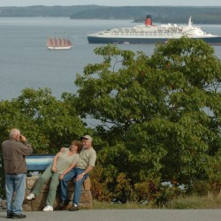 Cruise ships due in Portland and Bar Harbor this week