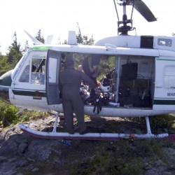 Maine Forest Service tests Helitack program in Old Town drill