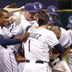 Rays sting Sabathia, pull within half-game