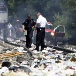 Trucker may have been texting or talking on phone before Amtrak collision