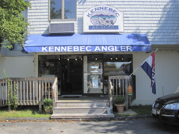The Kennebec Angler bait and tackle shop on the shore of the Kennebec River in Bath will close for good at the end of the month.