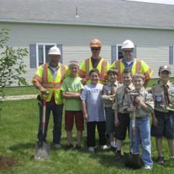 New trees grace Hermon Elementary thanks to Project Canopy grant
