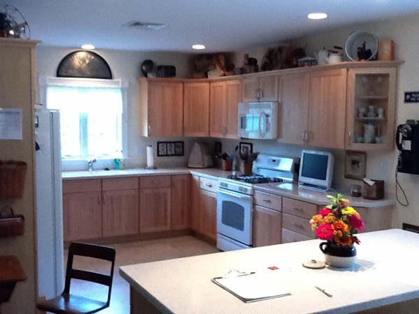 The kitchen of Bob and Judy Commeau, Orono