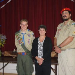 Orrington Scout earns Eagle rank