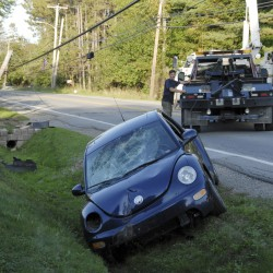 Winterport woman charged with OUI after Hampden crash