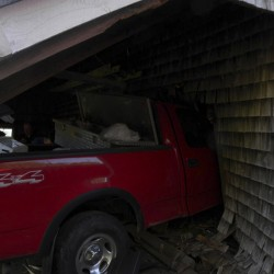 Guilford man impaled by garage rafter still in critical condition