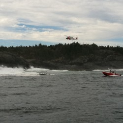 Official: Man swept off Maine island believed dead