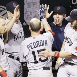 Hernandez, Mora homers sink Red Sox