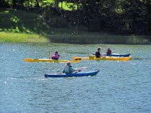 Spectrum Generations hosting sea kayak class
