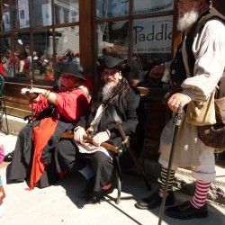 Pirates overrun Lubec in prelude to festival