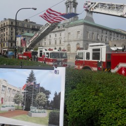 Deputy fire chief searching for former Portland firefighters as monument dedication nears
