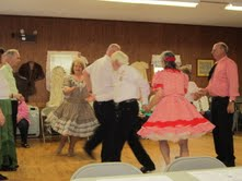 September is the big month for many square dance clubs because this is usually when they offer beginner lessons.