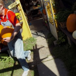 Kids throng Bangor Auditorium for Pumpkins in the Park