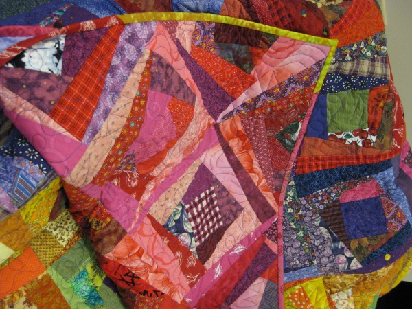 Quilt made by the Zonta Club