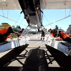 Floatplane explorers at international fly-in