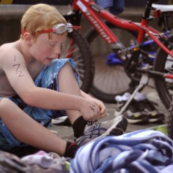Cub Tracks triathlon encourages friendly competition