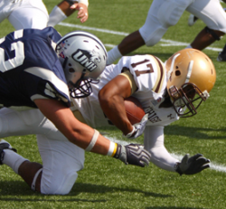 New Hampshire edges Lehigh 48-41 in overtime