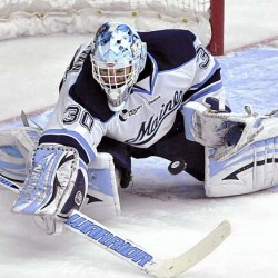 Black Bear goaltenders seeking more consistency