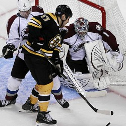 Lucic and Marchand score twice as Bruins roll, 6-2