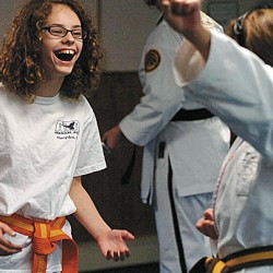 Martial arts school stresses core values