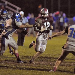 Offense clicking for Bangor football team in victory over Cony