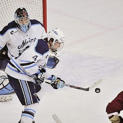 UMaine's Diamond staying out of box, racking up goals