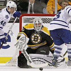 Kessel, Grabovski lead Maple Leafs past Bruins 4-3