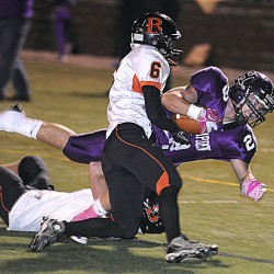 Hampden runs by Old Town as Stevens, Steward stand out