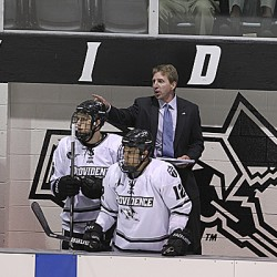 Leaman named Div. I hockey coach of the year