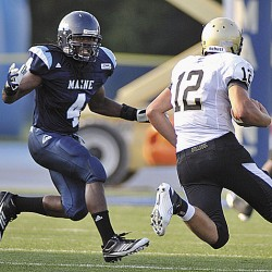 Scrimmage provides platform for UMaine football playmakers