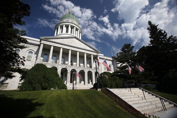 The State House is seen in Augusta, Maine, on June 9, 2011.