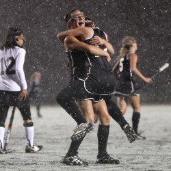 Penalty-corner success propels Skowhegan past Scarborough to state Class A field hockey title