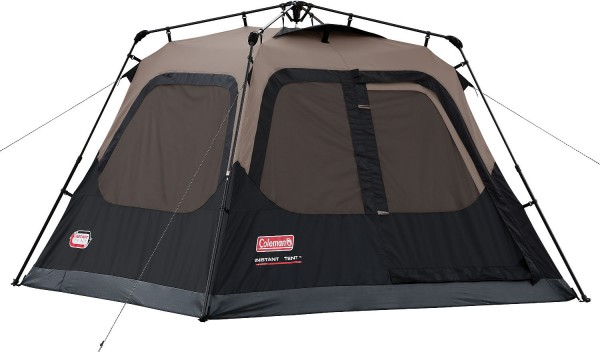 Coleman's Instant Tent can be assembled in 60 seconds.