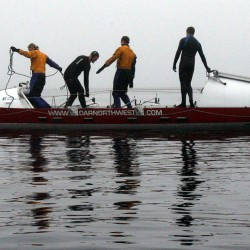 'The ocean either lets us cross or it doesn't': Rowers recount capsizing