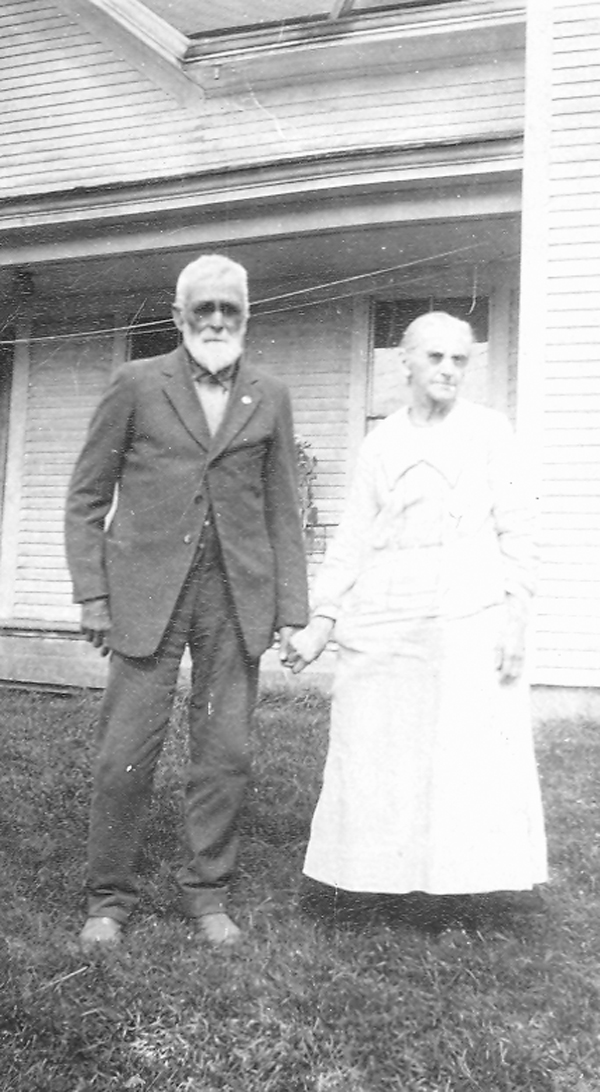 Sometime in the early 20th century, Ben and Theresa Hinkley posed for a photographer outside the Hinkley House, their farmhouse-hotel in LaGrange. Their eyesight already failing, Ben and Theresa held hands while waiting for the shutter to snap.