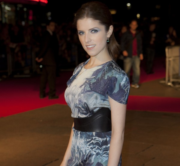 U.S actress Anna Kendrick arrives for the offical BFI London Film Festival screening of &quot50/50&quot at a central London cinema on Thursday.