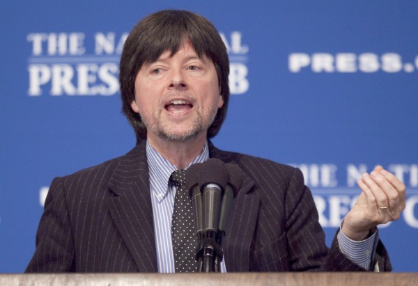 Documentary filmmaker Ken Burns discusses his new film &quotProhibition&quot, Monday, Oct. 3, 2011, at the National Press Club in Washington.
