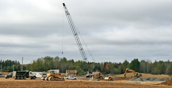 A new warehouse for Cavendish Agri Services is currently being built on Route 1A in Fort Fairfield. Officials say the facility, which will collect, store and distribute agricultural fertilizer, will be operational by April 2012 and will increase the company's capacity to serve existing customers and develop new markets.