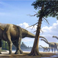 Study finds dinosaur farts helped warm Earth