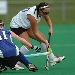 Twin sisters lead Belfast quest for regional field hockey title