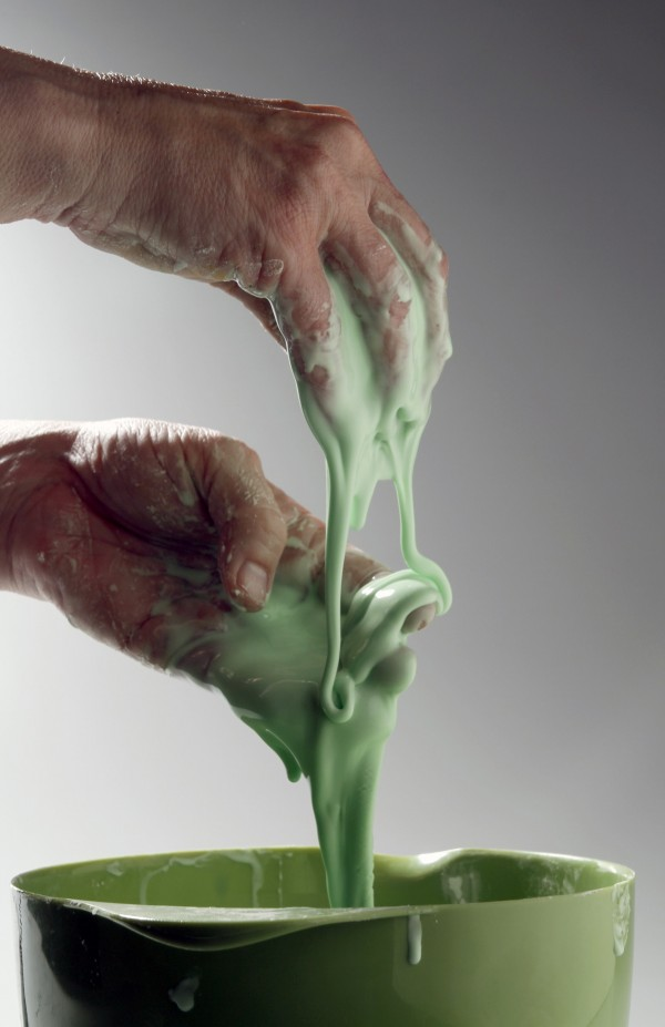 Goblin goo can take a solid or liquid form, both of them gruesomely gross.