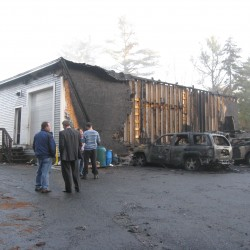 Man gets 5 years for arson that destroyed Freeport business