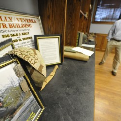 'Fallen Heroes' room under way in Brewer